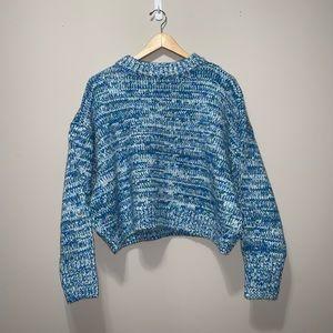Lou & Grey Slopeside Cropped Sweater